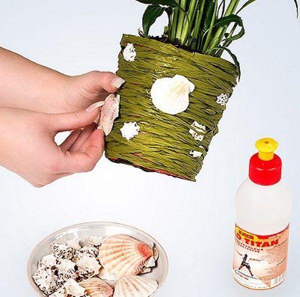Як декорувати квіткові горщики