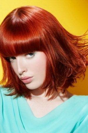 Як пофарбувати руде волосся
