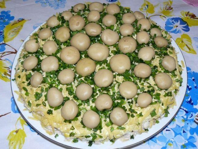 Як приготувати салат «Грибне козуб»
