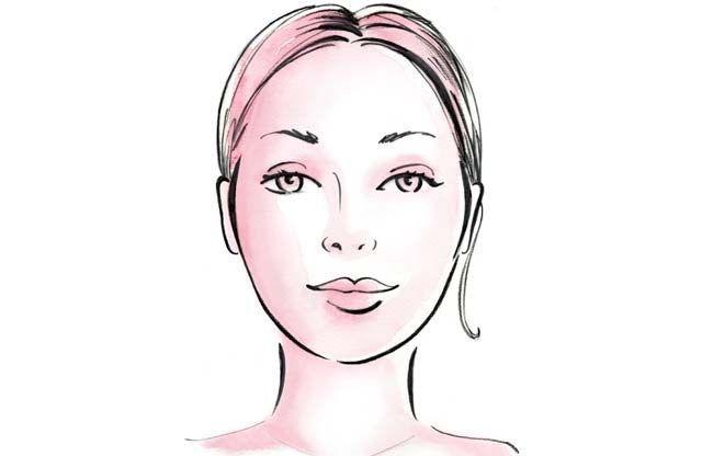 Овальне обличчя