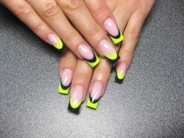 Які форми бувають у нарощених нігтів