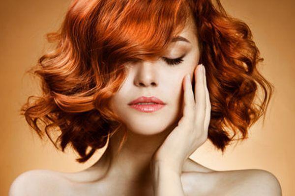 мелірування рудого волосся