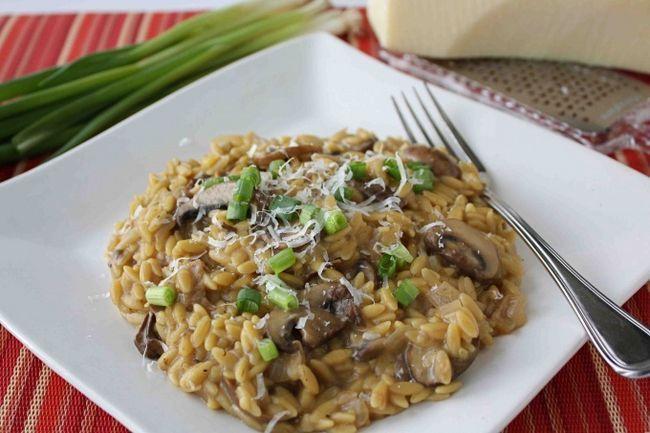 Пісні страви на кожен день: перлотто з грибами