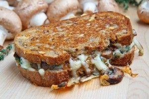 Сендвічі з грибами