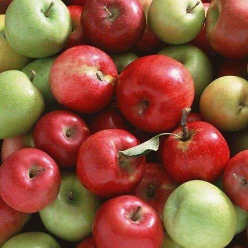 В якій країні ростуть найкрасивіші і смачні яблука