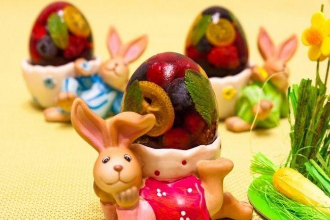 Заливні солодкі яйця